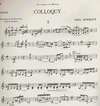 HAL LEONARD Musgrave, Thea: Colloquy (violin & piano)