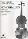 Munchhausen, August Baron von: Sonate (viola & piano)
