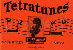 HAL LEONARD Nelson, S: Tetratunes (viola)