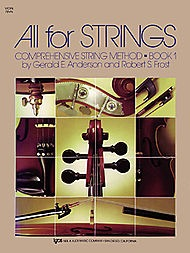 Anderson & Frost: All for Strings, Bk.1 (violin) Kjos