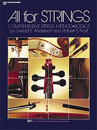 Anderson & Frost: All for Strings, Bk.2 (piano accompaniment)