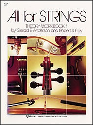 Anderson & Frost: All for Strings Theory Workbook, Bk.1 (violin)