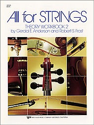 Anderson & Frost: All for Strings Theory Workbook, Bk.2 (violin)