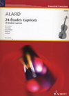 HAL LEONARD Alard: 24 Etudes for Violin, Op. 41