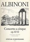 Albinoni, T.: Concerto Op10/12 B flat (violin & piano)