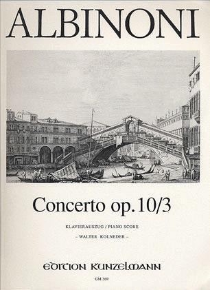 Albinoni, T.: Concerto Op.10/3 in C (violin & piano)