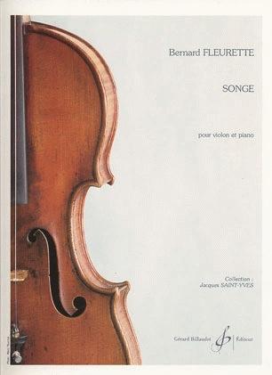 Carl Fischer Fleurette, Bernard: Songe (violin & piano)