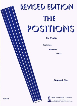 HAL LEONARD Flor, Samuel: The Positions (violin)