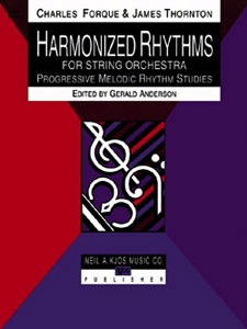 Forque, Charles: Harmonized Rhythms for String Orchestra (violin)