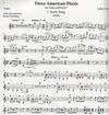 Carl Fischer Foss, Lukas: 3 American Pieces (violin & piano)