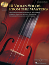 HAL LEONARD Nelson, S.: 10 Violin Solos from the Masters (violin & piano, CD)