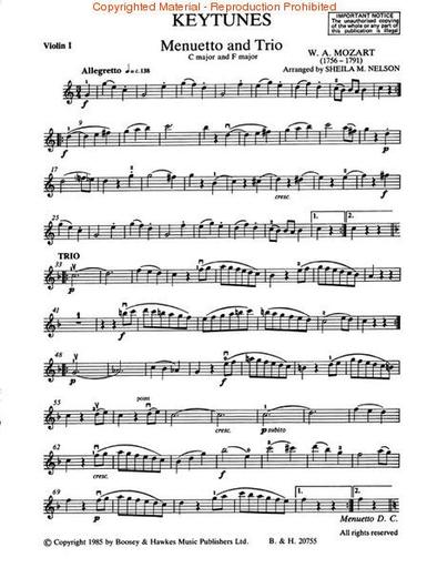HAL LEONARD Nelson, S.: Keytunes 1 (violin)