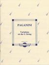 Paganini, Niccolo (Arnold): Variations on the G String (viola)