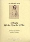 Carl Fischer Paganini: Sonata Per La Grand' Viola