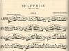 International Music Company Palaschko, Johannes: 10 Studies for Viola Op.49