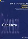 HAL LEONARD Penderecki: Cadenza for Brandenburg Concerto No.3 in G Major (viola, harpsichord, & cello) Schott