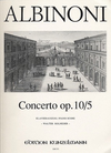 Albinoni, T.: Concerto Op10/5 in A (violin & piano)