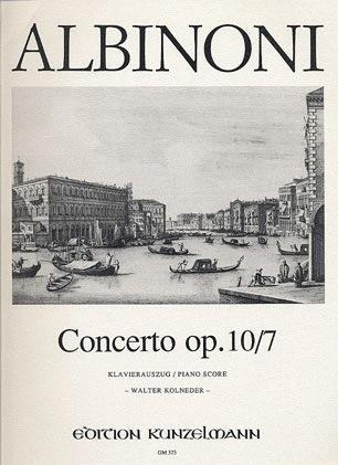 Albinoni, T.: Concerto Op.10/7 in f (violin & piano)