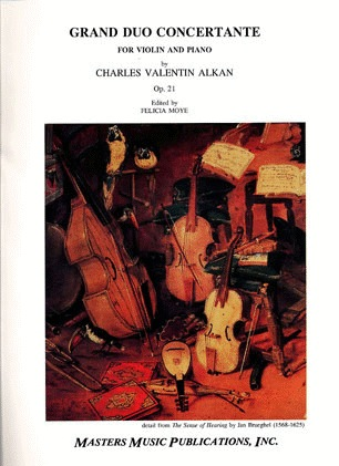 LudwigMasters Alkan, Charles Valentin: Grand Duo Concertante OP.21 (violin & piano)   Out of Print