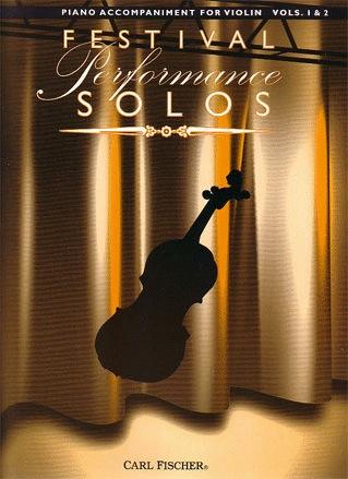 Carl Fischer Perlman/Ambrosio (arr): Festival Performance Solos (Piano Accompaniment) Vol.1-2