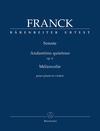 Barenreiter Franck, C.: Sonate, Andantino quietoso Op.6, Melancolie (violin and piano) Barenreiter