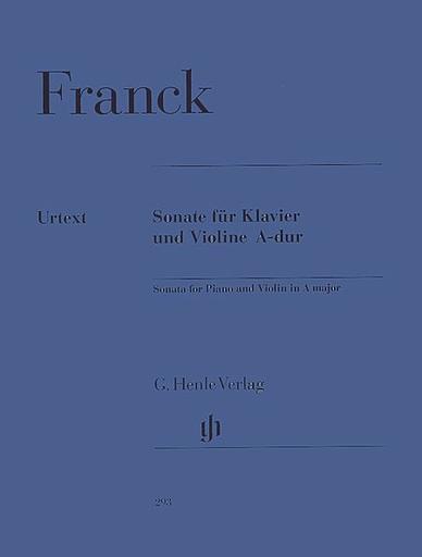 HAL LEONARD Franck (Hope & Menuhin): Sonata in A Major - URTEXT (violin & piano)