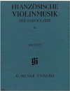 HAL LEONARD Meyn-Beckmann (ed.): French Violin Music of the Baroque Era, Vol.2, urtext (violin & piano)