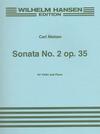 HAL LEONARD Nielsen, Carl: Sonata Op.35#2 (violin & piano)