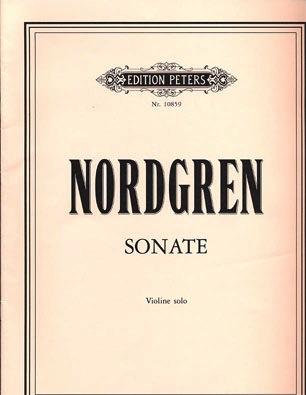 Nordgren, Pehr Henrik: Sonate for Violin Solo (violin)