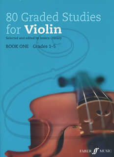 Alfred Music O'Leary: (collection) 80 Graded Studies for Violin, Bk.1 (violin) Faber Music