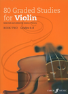 Alfred Music O'Leary: (collection) 80 Graded Studies for Violin, Bk.2 (violin) Faber Music