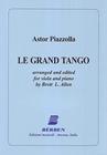 Carl Fischer Piazzolla, Astor (Allen): Grand Tango (viola & piano)