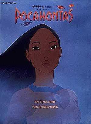HAL LEONARD Menken: Pocahontas (easy viola)