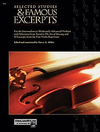 Alfred Music Alshin, Harry A.: Selected Studies & Famous Excerpts (violin)