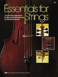 Anderson, Gerald: Essentials for Strings (violin)