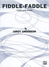 Alfred Music Anderson: Fiddle-Faddle (violin & piano) Alfred Music