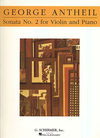 HAL LEONARD Antheil, George: Sonata #2 for Violin & Piano
