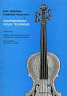 Galaxy Music Galamian, Ivan: Contemporary Violin Technique Vol. 2 (Galaxy)
