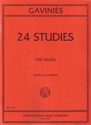 International Music Company Gavinies, P. (Galamian): 24 Studies (violin) IMC
