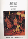 LudwigMasters Gavinies, Pierre: Six Sonatas Bk.1 #1-3 (violin & piano)