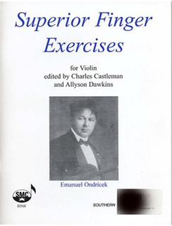 HAL LEONARD Ondricek, Emanuel: Superior Finger Exercises for Violin