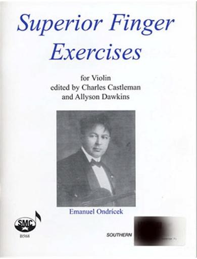 HAL LEONARD Ondricek, Emanuel: Superior Finger Exercises for Violin