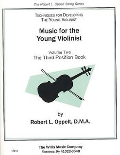 HAL LEONARD Oppelt: Third Position Book (violin)