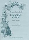 Carl Fischer Pachelbel, Johann (Dorff): Canon (violin & piano)
