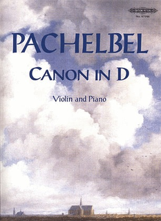 C.F. Peters Pachelbel: Canon (violin & piano)