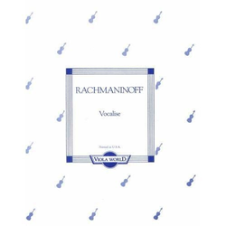 Viola World Rachmaninoff (Arnold): Vocalise (viola & piano)