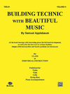 Alfred Music Applebaum, S.: Building Technic with Beautiful Music Vol.3 (violin)
