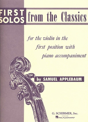 HAL LEONARD Applebaum, S.: First Solos from the Classics (violin & piano)