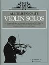 HAL LEONARD All Time Favorite Violin Solos (violin & piano)