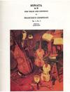 LudwigMasters Geminiani, Francesco: Sonata Op.1#4 d (violin & piano)